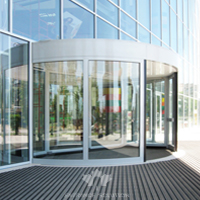 High Quality 2 Wing Revolving Door, Automatic Door Supplier, Factory