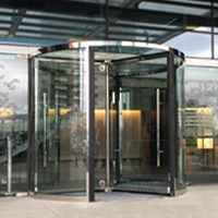 ERA6 series Crystal Revolving Door