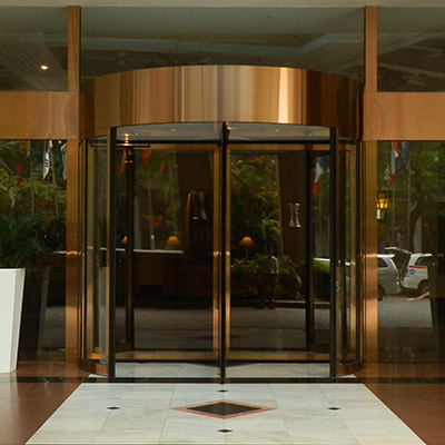 ERA3 series 3/4 Wing Revolving Door