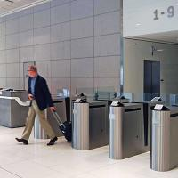 ETS series Slide Gate Turnstile
